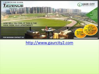 Gaur City Galaxy North Avenue