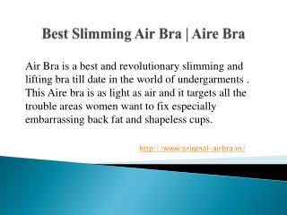 Air Bra | Aire Bra