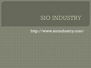 Ball Valve Manufacturer - SIO Industry