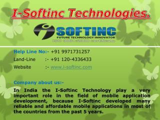 professional mobile application development company in India, Noida, Gurgaon