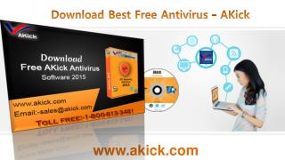 Download Best Free Antivirus - AKick