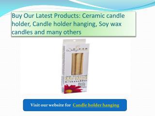 Best  Candle Holder Hanging
