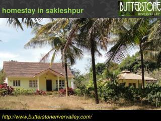 Homestay in sakleshpur