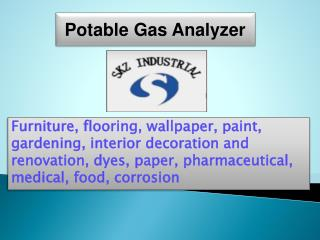 Potable Gas Analyzer
