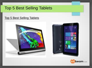 Top 5 Best Selling Tablets