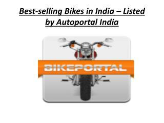 Best-selling Bikes in India
