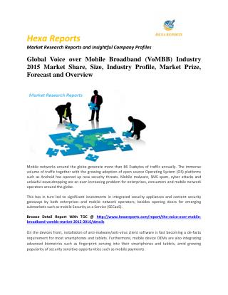 Mobile security (msecurity) market share, key trends & forecast  2011 - 2020