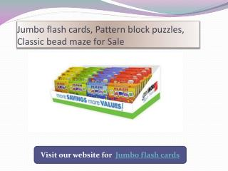 Unique jumbo flash cards For Sale