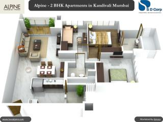 Alpine - 2 BHK Apartments in Kandivali Mumbai