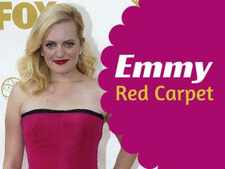 Emmy red carpet