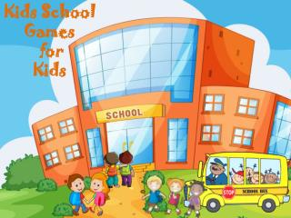 Kids School Game for Kids