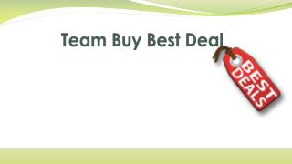 Team Buy Best Deal