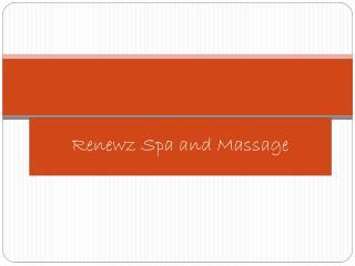 Cranston Massage
