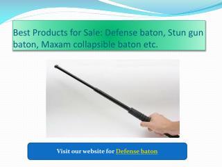 Buy Defense Baton for Sale