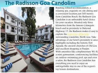 The Radisson Goa Candolim