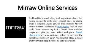 Order Diwali Chocolates online at best price