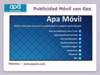 GPS solicitud para móvil publicidad