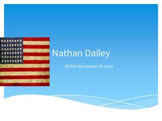 Nathan Dailey