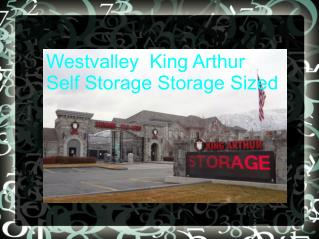 Extra space 10x20 Self Storage Unit of Westvalley  King Arthur Self Storage