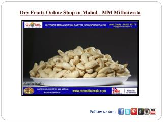 Dry Fruits Online Shop in Malad - MM Mithaiwala