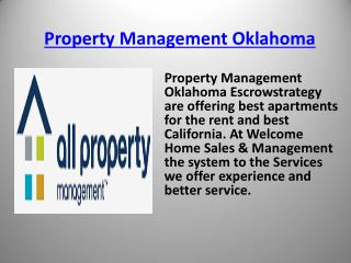 Rent My Home Oklahoma