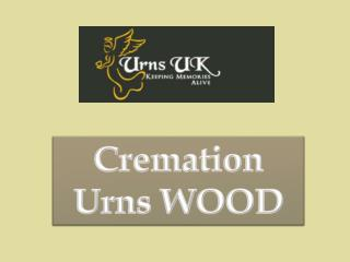 Cremation Urns Wood