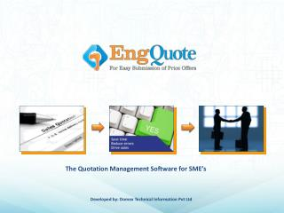 Quotation Software and Proposal Software