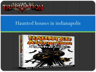 Indianapolis haunted houses