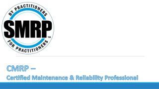 CMRP Dumps