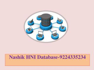 Nashik HNI Database-9224335234