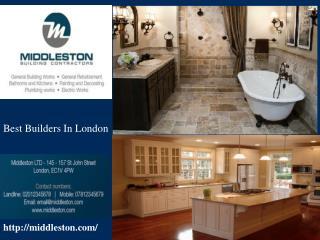 Best Builders in London