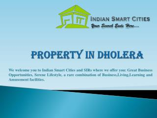 Property In Dholera | Gujarat