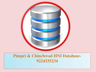Pimpri & Chinchwad HNI Database-9224335234