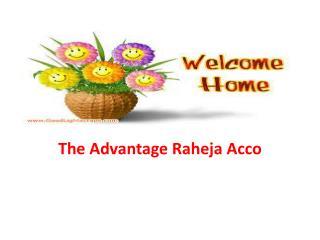 Raheja Acco Pre Launch