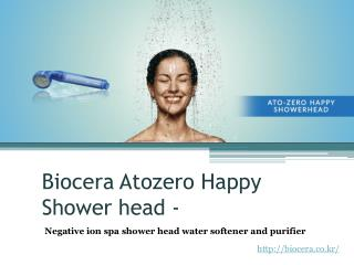 Shower Head Water Softener And Purifier