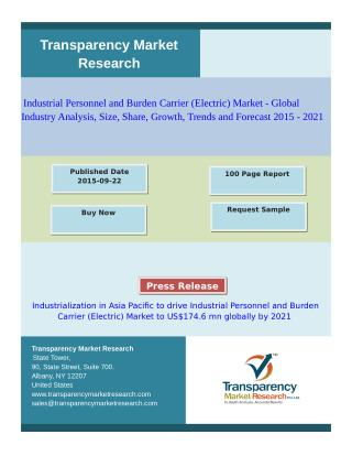 Industrial Personnel and Burden Carrier (Electric) Market