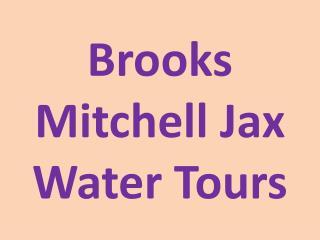 Brooks Mitchell - Jax Water Tours
