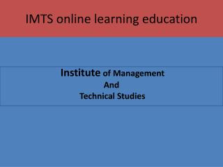 online learning education