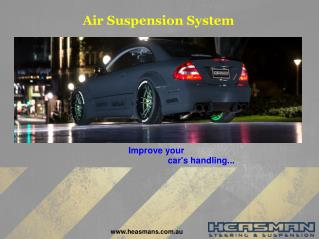Air Suspension System
