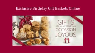 Exclusive Birthday Cupcakes Online
