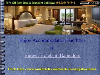 Cheap Budget Hotels in Bangalore
