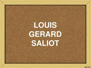 Gerard Saliot | CEO of EAM Group Louis Gerard Sailot