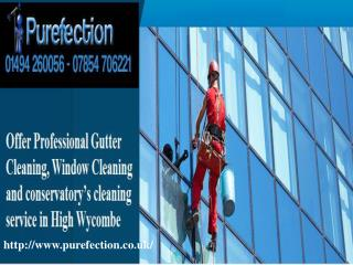 Window Cleaning services In High Wycombe