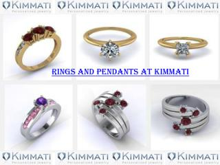 Rings and Pendants at Kimmati