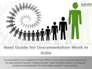 Best Guide for Documentation Work in India