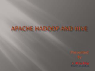 Hadoop onlie training
