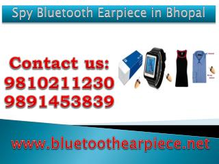Spy Bluetooth Earpiece in Bhopal,9810211230