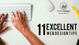 11 Excellent Web Design Tips for Businesses