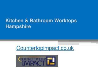 Corian Bathroom Countertops - Countertopimpact.co.uk
