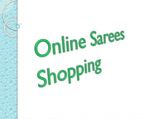 Online Sarees Shopping